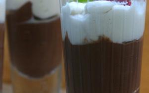 Semifreddo alla panna e cioccolato