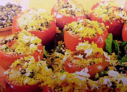 Pomodori al pangrattato