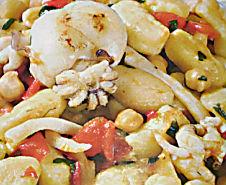 Gnocchi di patate con seppie