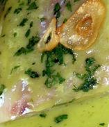 Filetti di merluzzo in salsa bianca