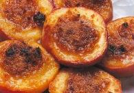 Pesche farcite al forno