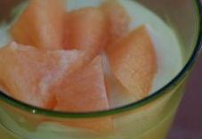 Mousse al melone