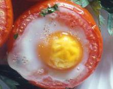 Pomodori ripieni con uovo