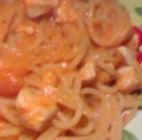 Spaghetti con salsa di tonno