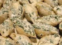 Conchiglioni ripieni di ricotta e spinaci