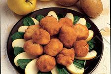 Crocchette salate di mele e patate
