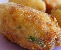Crocchette di patate con zucchine