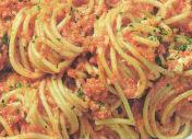 Spaghetti alla stracciatella