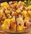 Insalata di pollo peperoni e patate