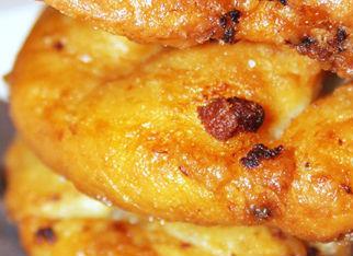 Frittelle con pancetta